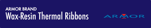 Wax Resin Ribbons